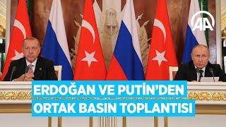 Zapętlaj Erdoğan ve Putin ortak basın toplantısı düzenledi | Anadolu Ajansı