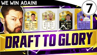 WE WIN THE DRAFT! - DTG#07 - FIFA 16 Ultimate Team