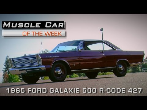Muscle Car Of The Week Video Episode #160: 1965 Ford Galaxie 500 R-Code 427