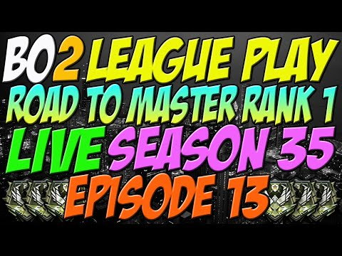 OVERKILL!! I ACTUALLY CHOKED THE 70 AGAIN! Black Ops 2 League Play - Road To Master Rank 1