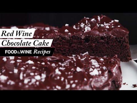 Red Wine Chocolate Snack Cake | Recipe | Food & Wine