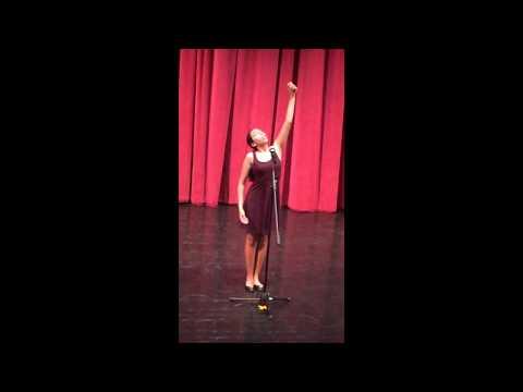 "Topaz Winters performs Rita Dove's ""American Smooth"""