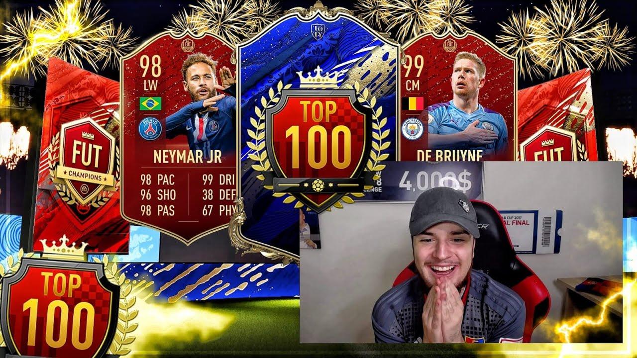 FIFA 20: ÜBER 2,5 MIO GEMACHT 💰😱 4x TOP 100 REWARDS 🔥🔥