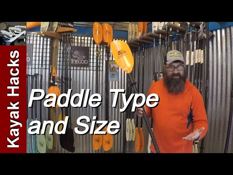 How To Pick A Kayak Paddle Size - Expert Help!