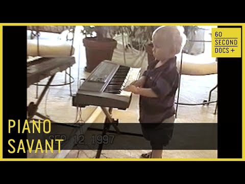 Piano Savant | Rex Lewis-Clack // 60 Second Docs+