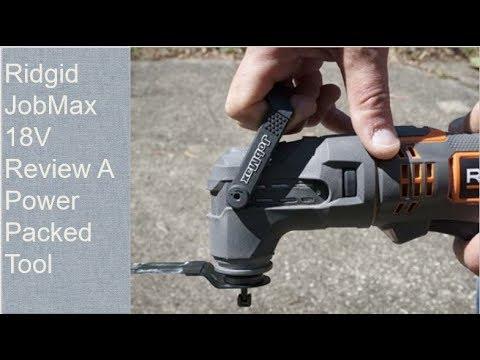 Ridgid JobMax 18V Review A Power Packed Tool