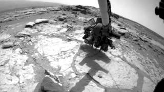 Curiosity Mars Rover Drilling Into Its Second Rock