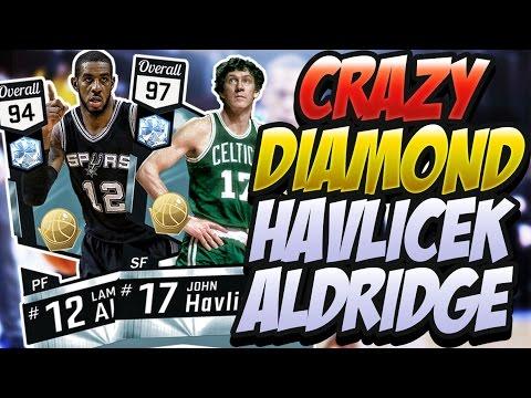 NBA 2K17 MYTEAM DIAMOND HAVLICEK & ALDRIDGE GAMEPLAY! BONUS: AUCTION HOUSE MARKET CRASH INFO!