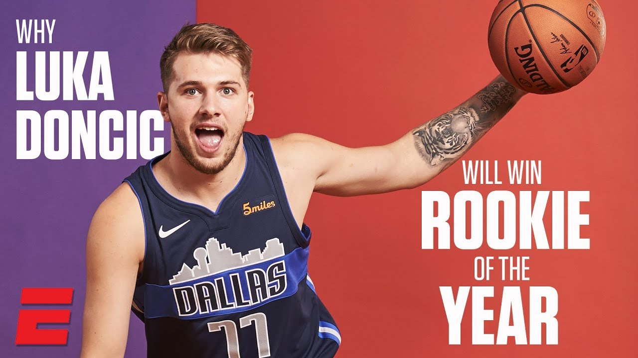 7fec7d04b461 Why Luka Doncic is the NBA Rookie of the Year Favorite - YouTube