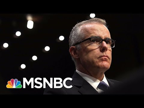 General Jeff Sessions Reviewing Recommendation To Fire Ex-FBI Deputy Director Andrew McCabe | MSNBC