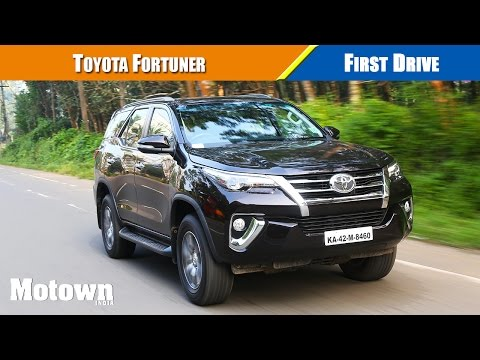 Toyota Fortuner 2016 Road test Review