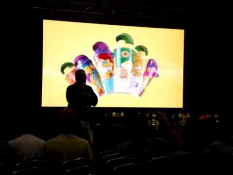 Los Simpsons en el Forum-Santiago Del Estero parte 1