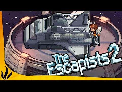 ON EST EMPRISONN DANS L'ESPACE ! (The Escapists 2 #14)