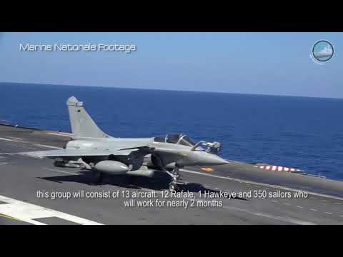 French Navy Rafale M to Fly from USS George H. W. Bush for Chesapeake 2018