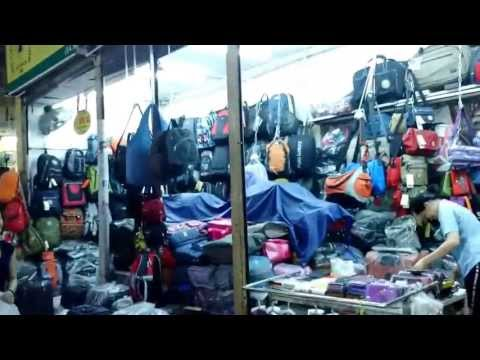 Textile Market Ben Thanh Saigon