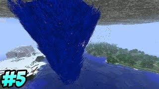 Minecraft: Tornado Mod Survival! - Episode 5 - &quotOUR HOME!&quot (Minecraft Let&#39s Play)
