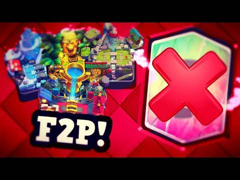 Top 3 NO Legendary Decks for TROPHY PUSHING in Clash Royale