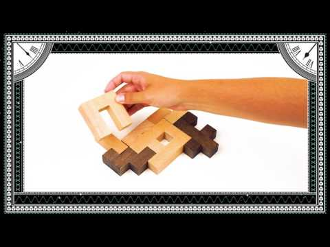 Einstein - Letter Block Puzzle - Challenge 6 Solution