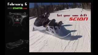 The New Scion Adult Snow Sled By Snolo - Purgatory, Colorado
