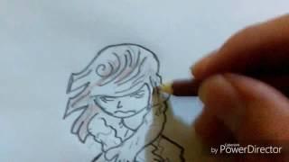 Drawing shawn michaels dx cartoon