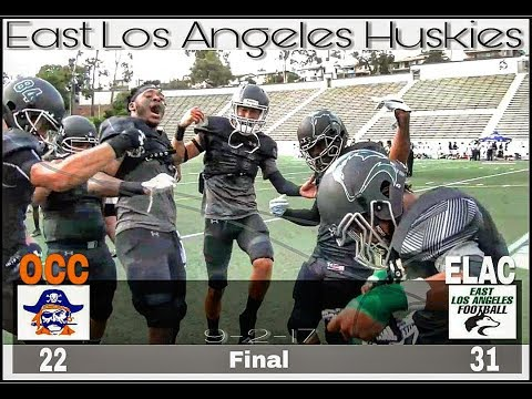 East Los Angeles Football - Sept 02, 2017 (Occ - 22 - Elac - 31) Final