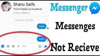 Messenger    SMS Not Receive Problem Solve screenshot 2