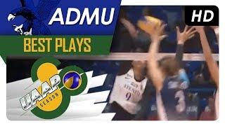 UAAP 80 WV: Ponggay Gaston splits through the defense! | ADMU | Best Plays