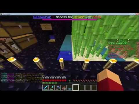The launch codes minecraft cosmic faction 0 9 cosmicpvp ice