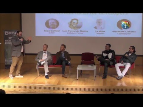 Fermat Launch at the 2015 Latin American Bitcoin Conference.