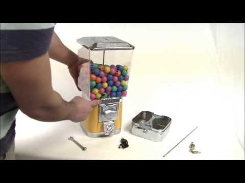 How to Install a Cashbox Drawer on a Rhino Vending Gumball Machine