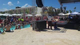 One Republic in Dominican Republic Punta Cana Now Onyx März 2017  BGS
