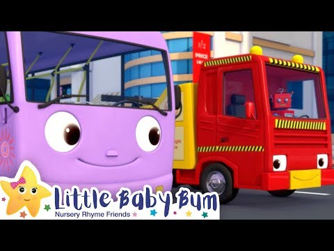 🔴 Wheels On The Bus Song - Little Baby Bum + More Nursery Rhymes and Kids Songs