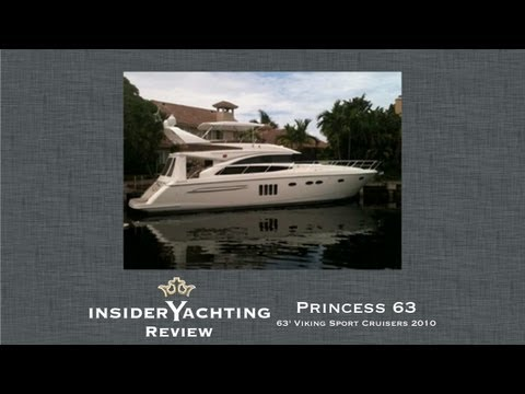 Princess 63 Yacht Review