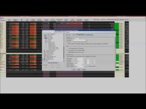 Interactive Brokers Trading Defaults, Buy Bid Sell Offer
