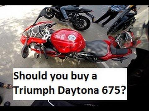 Should you Buy a Triumph Daytona  in India?