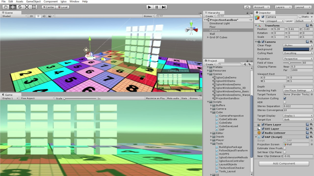 Off Axis Projection issue - Unity Forum