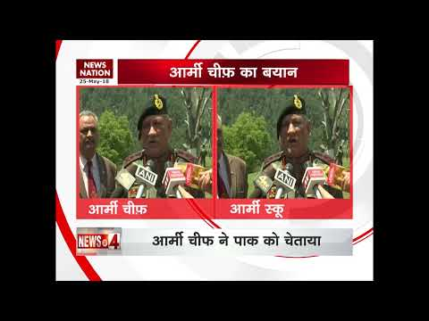 Can extend ceasefire if peace prevails, says Army Chief General Bipin Rawat