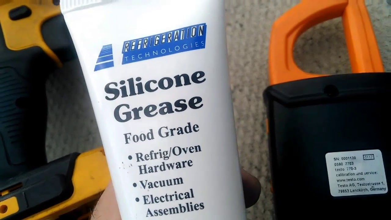 Silicone grease: determination and application