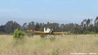 PZL-Mielec M-18 Dromader Matricula CC-PZT en Aeródromo Santo Domingo (SCSN)