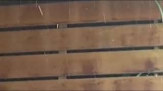 La nieve sorprende a la Costa onubense