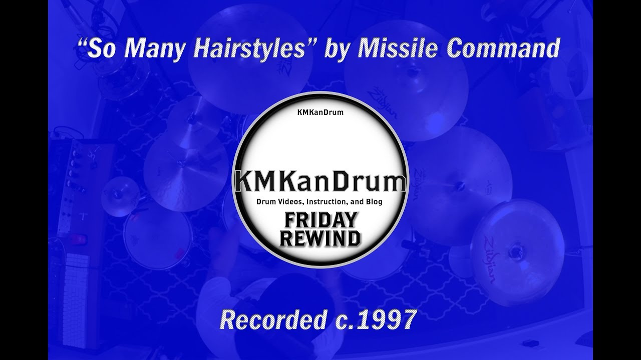 Friday Rewind Playlist Week 3: So Many Hairstyles by Missile Command