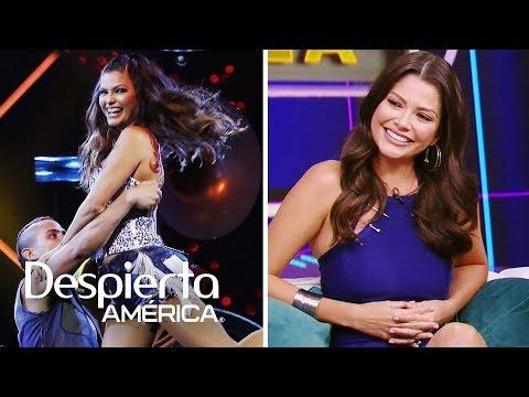 Ana Patricia ya se siente ganadora tras debutar en Mira Quién Baila