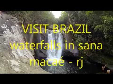VISIT BRAZIL: Waterfalls in Sana - Macaé - RJ