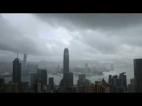 "TimeLapse Typhoon ""Nangka"" over Hong Kong"
