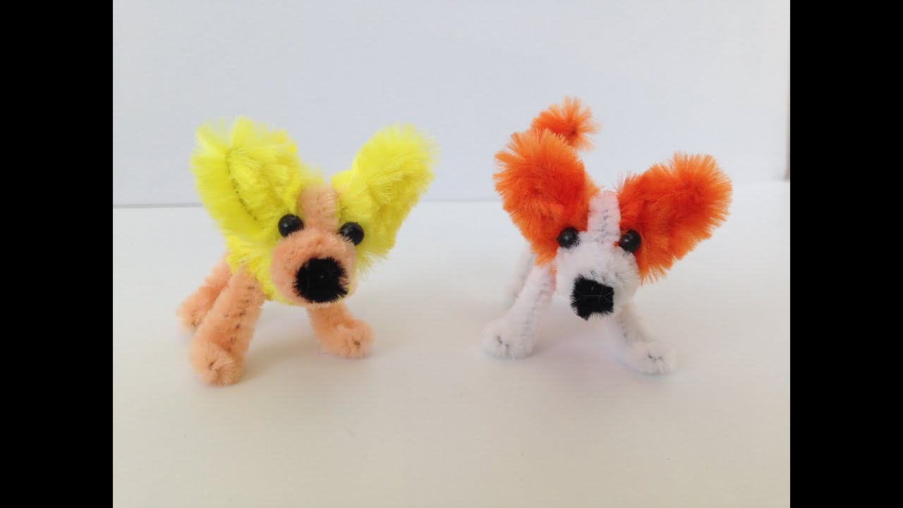 Uncategorized Things To Make With Pipe Cleaners how to make a pipe cleaner dog youtube