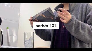 [vlog] 바리스타의 하루