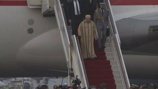 Le roi Mohamed VI en visite à l