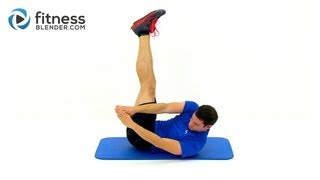 100 Rep Abs and Obliques Workout - Fitness Blender's 5 Minute Abs Workout Routine