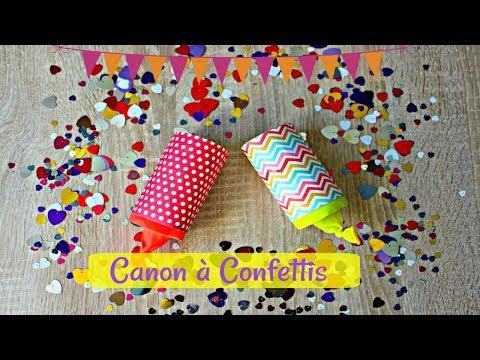 Comment faire un canon à Confettis ?
