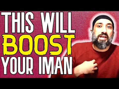 An Imanboosting Lecture By Nouman Ali Khan (NEW 2019)